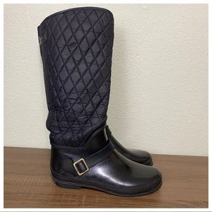 Sperry Quilted Rain Boots